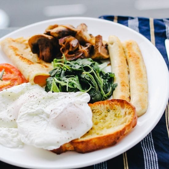 A Full English, but, like, healthier.