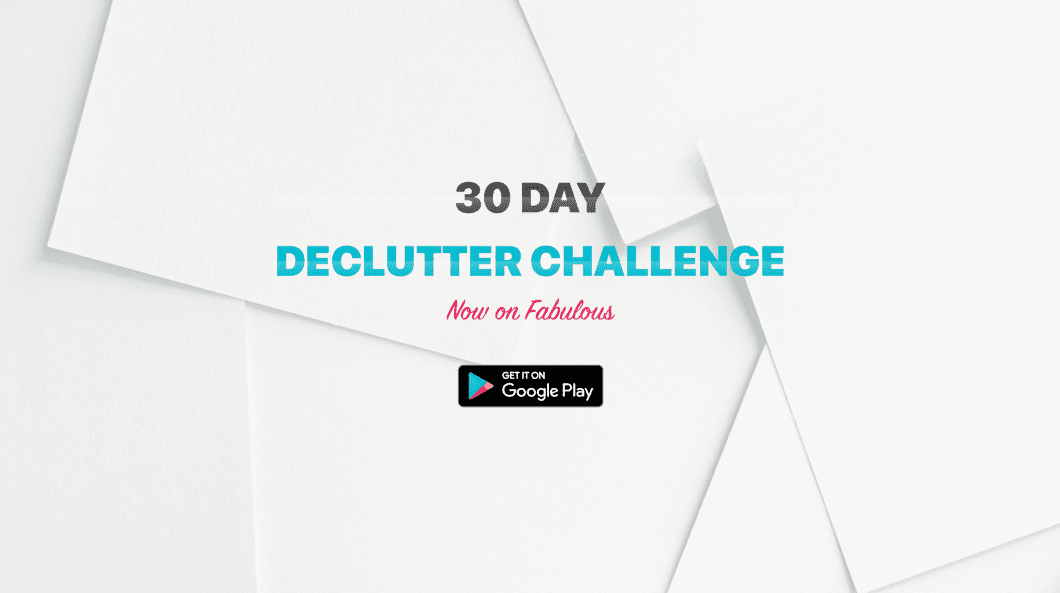 30 Day Declutter Challenge Launched on Android!