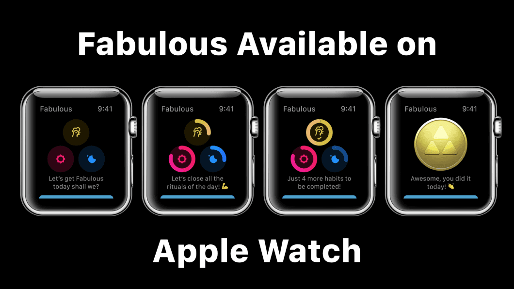 Fabulous Is Now On Your Apple Watch!